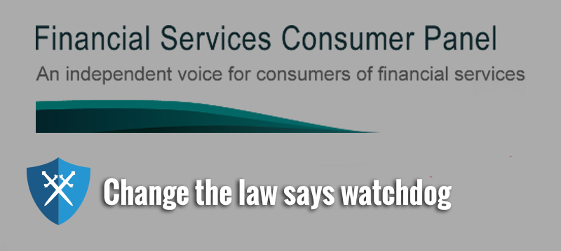 Bank mis-selling – change the law says watchdog