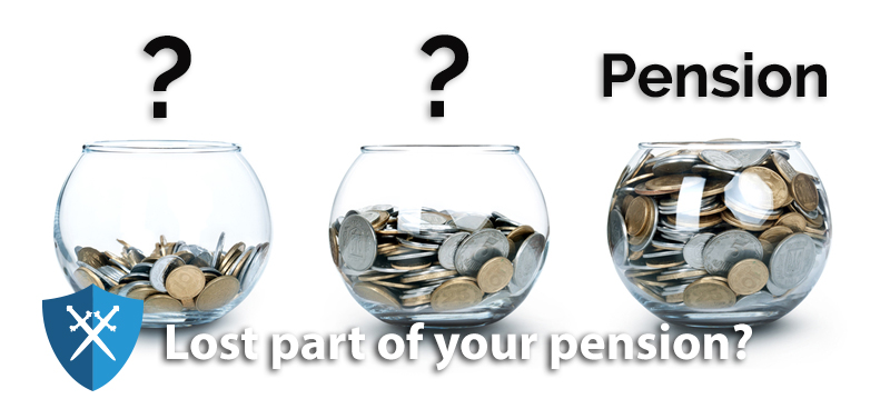 Have you lost track of your pensions?