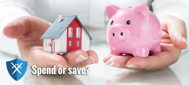 Mortgage finished – now spend or save?