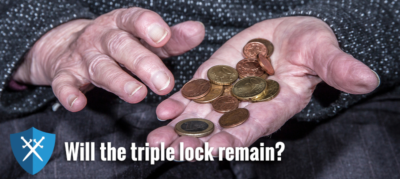 Triple lock to go in pensions re-vamp?