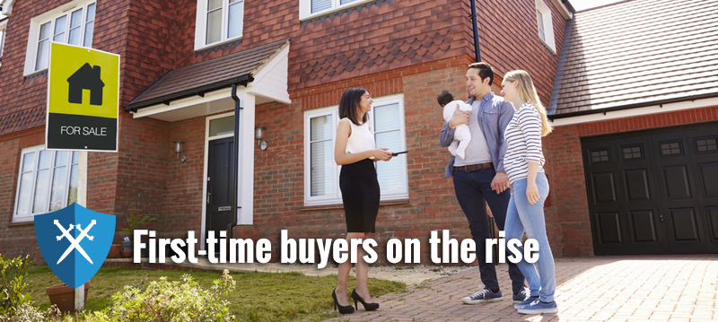 More first-time buyers stepping onto the ladder