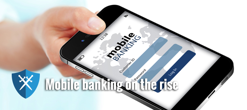 Phone apps replacing bank branch visits
