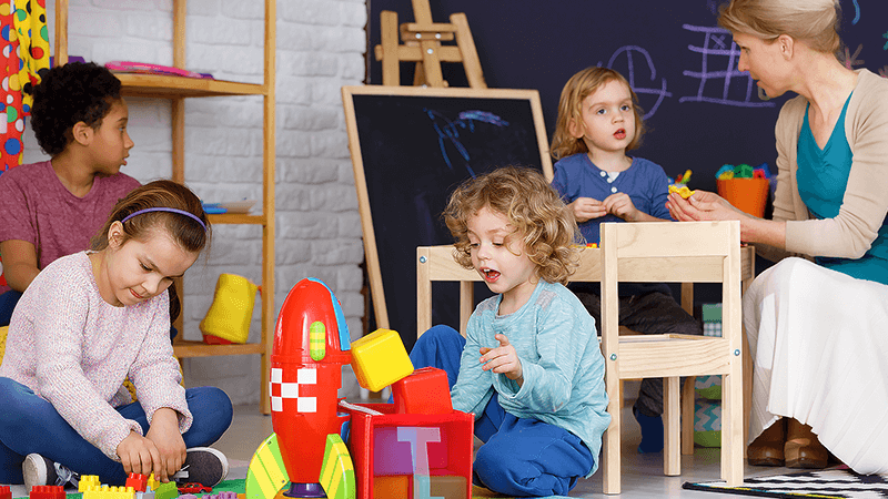 Child care costs more than the mortgage